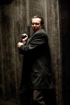 "Commissioner James Gordon -- Christopher Nolan's ""Dark Knight Trilogy."""