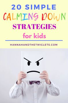 It can be really tricky when your child is struggling to manage their big emotions, so try these simple calming down strategies for kids! #hannahandthetwiglets #calmingdown #angerinkids #kidsemotions #emotionalregulation #childbehaviour Parenting Goals, Conscious Parenting, Parenting Styles, Parenting Quotes, Parenting Advice, Child Behaviour, Kids Behavior, Peaceful Parenting, Gentle Parenting