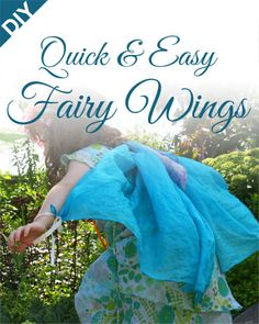 Tutorial: Easy Last-Minute Fairy Wings : Yesterday was Magic and Mischief weekend at the Royal Botanical Gardens – an event we look forward to ALL YEAR LONG. So you would think, with 52 weeks to prepare since last year's event, that I would have thought, just maybe, to get proper wings for the girls in advance. ... ... ... Crud. Well in my defence, we did have one pair – but they made a flight up to my mother's house on Saturday and forgot to return home...