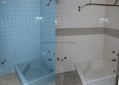 DIY Tub And Tile Reglazing How To Successfully Do It With An At - Reglazing bathroom tile before and after