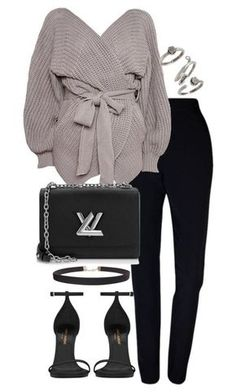 """Untitled #3135"" by theeuropeancloset on Polyvore featuring Plakinger, Topshop, Yves Saint Laurent, Humble Chic, Louis Vuitton and Kendra Scott"