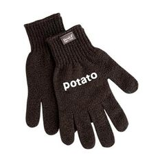 Leuk, praktisch en handig! Dat zijn deze aardappel scrub handschoenen Skrub'a Potato van Fabrikators. Maak je aardappels schoon en behoudt meer vitamines!