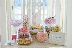 Všetko o svadbe: Candy Bar Candy Table, Candy Buffet, Cat Wedding, Wedding Day, Dream Wedding, Deco Candy Bar, Beach Wedding Setup, Rock Baby Showers, Butter Mints