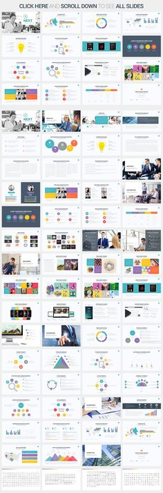 A colorful but clean and professional slide deck presentation template for Keynote. Includes lots of layouts, infographics, plus both a dark and light theme.