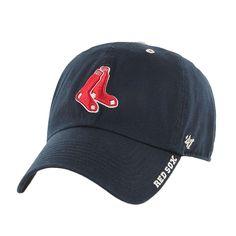 Boston Red Sox - Socks Logo Clean Up Adjustable Navy Baseball Cap