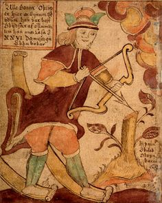 Ullr (meaning 'Glory') is such an old god of the northern lands, that by the time the Norse myths were written down in the Iron Age, not much was known about him except that he was a god of archery, hunting, skiing, and winter.