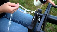 How to Spin Beads Into Yarn