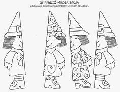 Resultado de imagen para dibujos de mitad de cuerpo para trabajar figura humana en niños