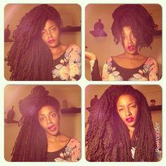 naturalhairdaily:  Beautiful! @tk_wonder #naturalhair #teamnatural #naturalista #afrohair #naturalhairstyles #megafro #afro #twists #braids #curls #coils #kinks