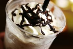 Starbucks Mocha frappuccino recipe you can DIY at home!
