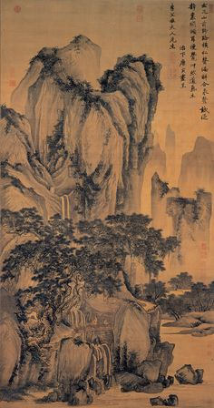 Tang Yins Landscape | Chinese Painting | China Online Museum