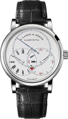 La Cote des Montres : La montre A. Lange & Söhne Richard Lange Seconde Sautante - À la seconde près, la nouvelle Richard Lange Seconde Sautante, la bien nommée
