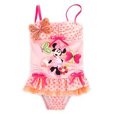 Minnie Mouse Clubhouse Deluxe Swimsuit for Girls | Disney Store