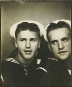 1940s. They kinda look like Ross (on the left) and Chandler (on the right) from 'Friends