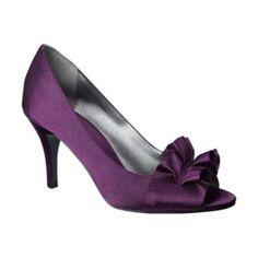 Purple Flower Heel