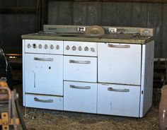 His old stove