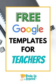 Click here to check out these FREE Google Templates for teachers! | Shake Up Learning Free Teaching Resources, Teaching Tools, Teacher Resources, Online Marketing Agency, Marketing Budget, Letter To Teacher, Meet The Teacher, Proposal Software, Preschool Transitions