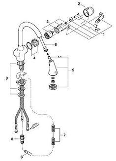 cool Fresh Delta Kitchen Faucet Replacement Parts 52 Home