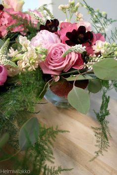 Lovely tableflowers from Helmivillakko