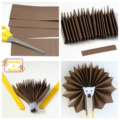This hedgehog craft will transform cardstock paper into a hedgehog craft fan that will make any kid smile. These pinwheel fans will provide days of fun.