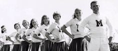 Vintage cheerleader team shot #cheer #cheerleader #cheerleading