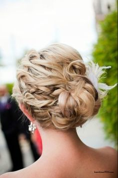 tiny braids at the sides for embellishment.  We can play around with the idea or totally trash it- up to you!