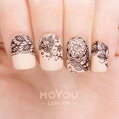 """2,231 Likes, 5 Comments - MoYou-London (@moyou_london) on Instagram: """"We love this delicate Henna look using the latest Doodle plates Isn't it beautiful? ⠀ Product…"""""""