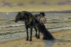 walking... Art by Naumovich S.N. drawn in SAI