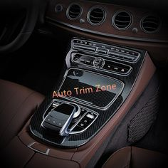 73.95$  Watch here - http://ali49f.worldwells.pw/go.php?t=32773196010 - ABS Plastic Artificial Carbon Fiber Gear Box Panel Frame Cover Trim For Mercedes Benz E-Class W213 2016 2017