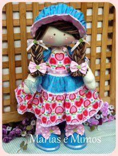 Marias e Mimos - Orçamentos e Encomendas: mariasemimosclientes@gmail.com: Boneca Camponesa Maça - T Conne Doll