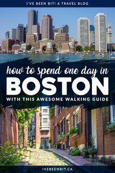Only have one day in Boston? The best way to see Boston in 24 hours is to get your walking shoes on! Make the most of your time in 'beantown' with this Boston itinerary. Usa Travel Guide, Travel Usa, Travel Guides, Travel Tips, Travel Destinations, Canada Travel, Spain Travel, France Travel, Travel Packing
