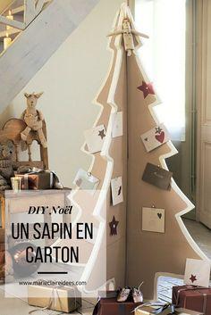 Fabriquer un sapin de Noël avec du carton / diy Noel / un sapin de noel original / christmas tree