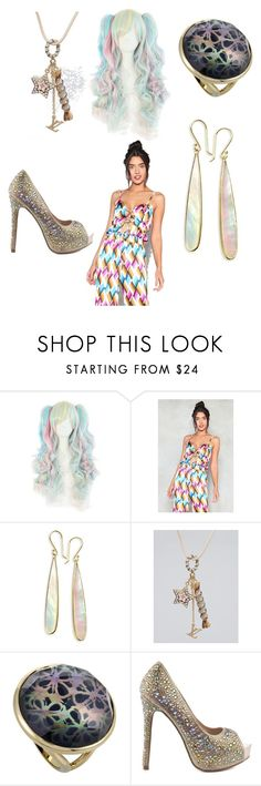 """Rock Candy girl"" by fairytail01 ❤ liked on Polyvore featuring beauty, Nasty Gal, Ippolita, Louis Vuitton and Lauren Lorraine"