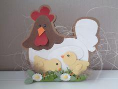 470.713.035 Dutch Doobadoo Box Art Chicken