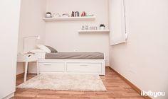 #proyectosantalo #iloftyou #interiordesign #ikea #barcelona #lowcost #bedroom #pax #tral #selje #brimnes #enje #lack #adum