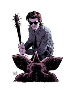 Steve harrington art by david m. buisán stranger things in 2019 duvar kağıt Stranger Things Saison 1, Stranger Things Quote, Stranger Things Have Happened, Stranger Things Steve, Stranger Things Aesthetic, Stranger Things Netflix, Steve Harrington Stranger Things, Fanart, Images