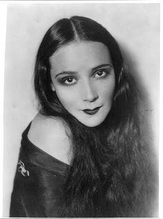 Mexican silent film star, dancer and singer Deloris Del Rio