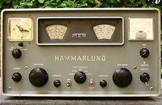 Hammarlund HQ-100 C Ham Short Wave Radio Receiver Vintage For parts, as-is…