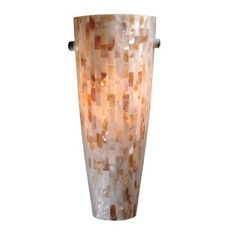 Vaxcel WS5325 Milano Shell Wall Sconce - Lighting Universe
