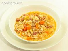 Minestra di riso e farro: Ricetta Tipica Lombardia   Cookaround