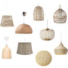 Bambú lamps