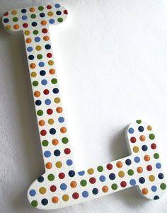 DOT TO DOT Custom Hand Painted Decorative Wooden by PoshDots