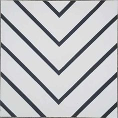 This cement tile is a black and white tile with a geometric design. This concrete tile offers a modern feel for your space. Shop the Maya White tile today.