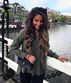 Hair goals like a MFer! Love Hair, Great Hair, Gorgeous Hair, Coiffure Hair, Hair Color And Cut, Brunnete Hair Color, Haircuts For Long Hair, Haircut Styles, Brunette Hair