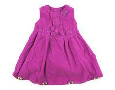 2T / Magenta corduroy dress / Robe magenta corduroy   Changeroo.ca