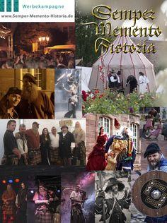 Großevent Semper Memento Historia www.semper-memento-historia.de