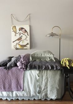 soft grey, grey, lavender, & lilac    (makena's room colors)