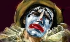 """""""Didpair is thr constant companion of the clown"""" - Angela Carter Nights at the Circus"""