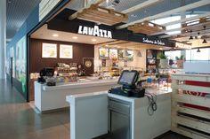 Proyectos - Modipu- Lavazza Aeropuerto Santiago de Compostela