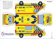 Paper Fire Engine Model | YorLogo® is een onderdeel van Cees Oosterom Design en Communicatie ...